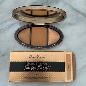 Too Faced Turn Up The Light in Tan
